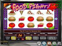 5-Reel Food Fight Slot Game