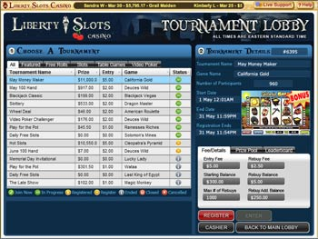 Liberty Slots Casino Tournaments