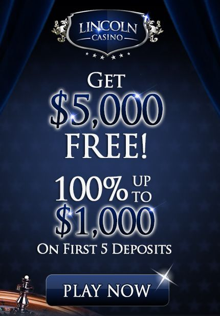 Lincoln Casino has an Extra $300 to celebrate the Last Week of September