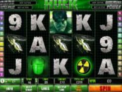 The Incredible Hulk Slots (Playtech)