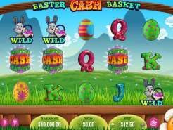 Easter Cash Basket Slots