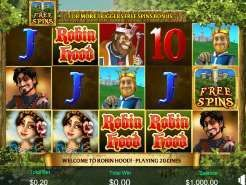 Robin Hood and His Merry Wins Slots